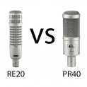 Heil PR40 Vs. Electro-Voice RE20